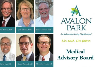 Introducing the Medical Advisory Board at Avalon Park