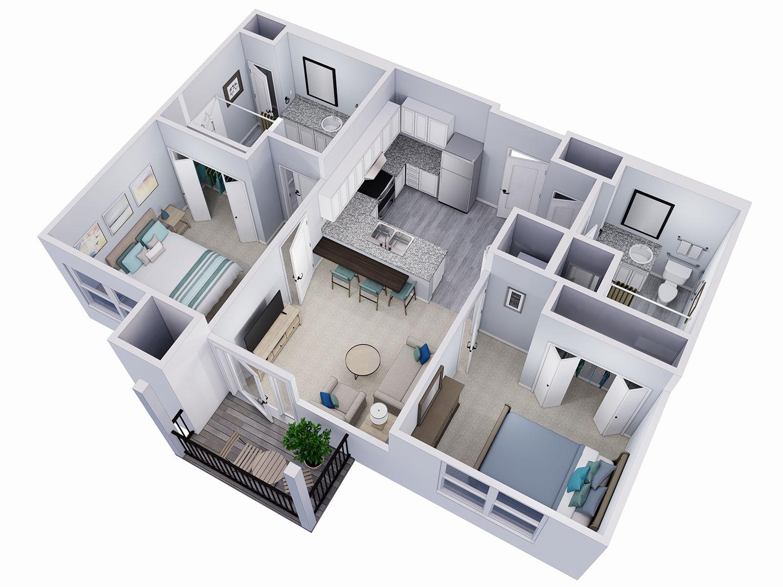 The Cypress Floor Plan