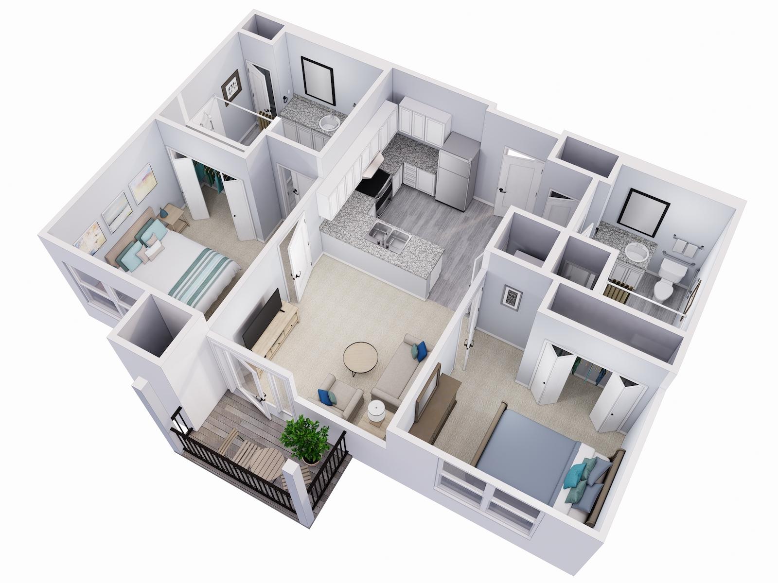 Avalon Senior Living Cypress Floor Plan