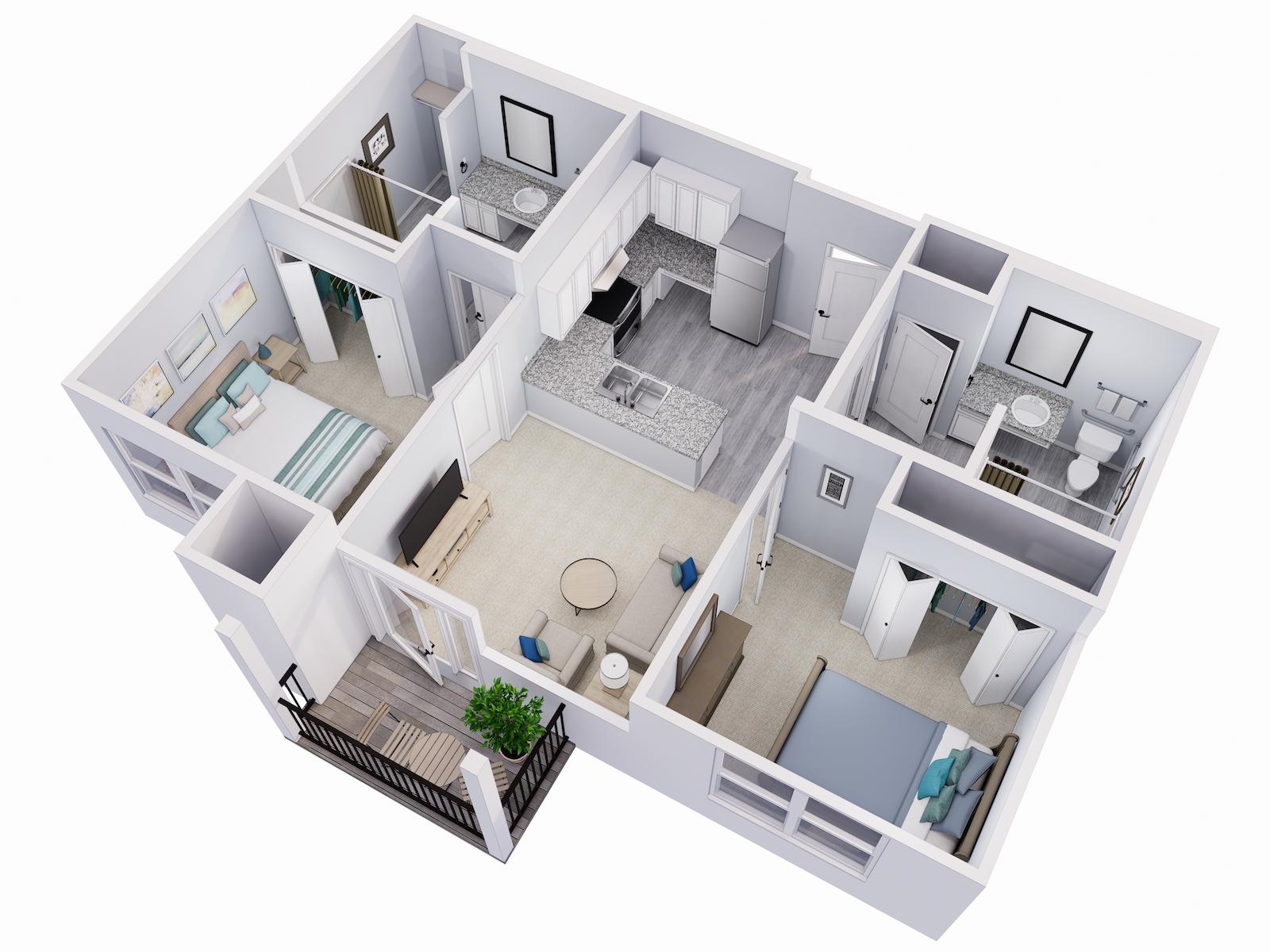 Avalon Senior Living Ash Floor Plan